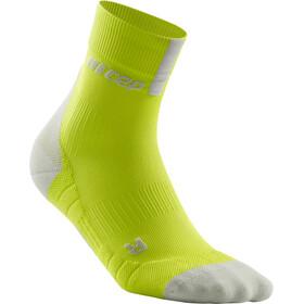 cep Short Socks 3.0 Men lime/light grey